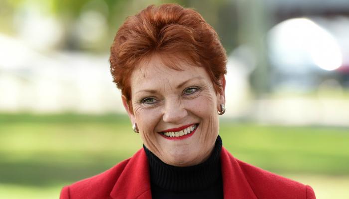 Pauline Hanson says burqa not religious