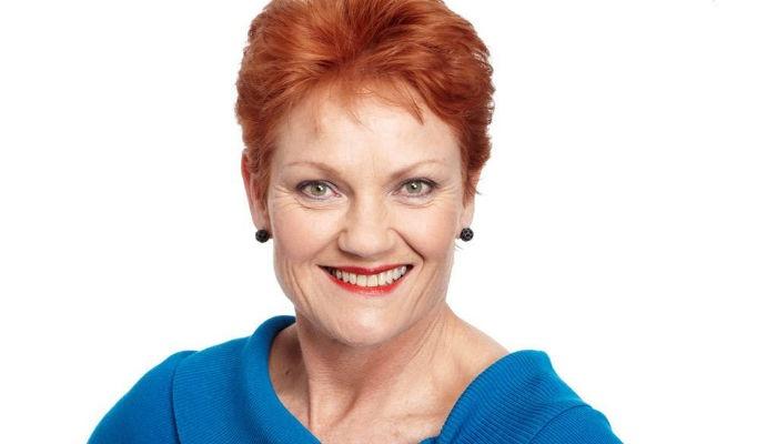 Pauline Hanson talks policy and population