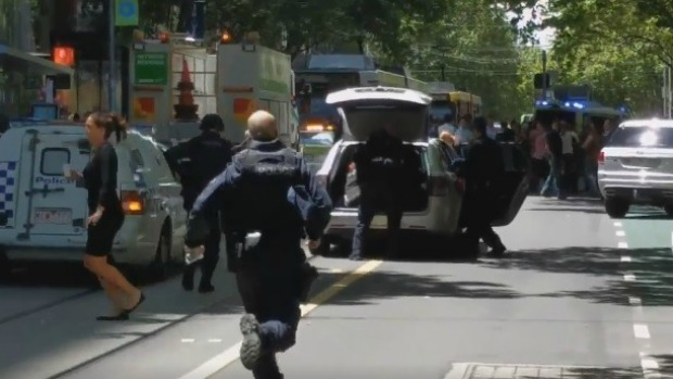 Article image for Breaking: police incident Melbourne CBD