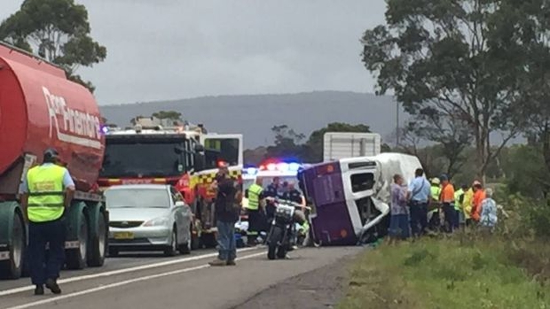 One Dead In Horror Bus Crash