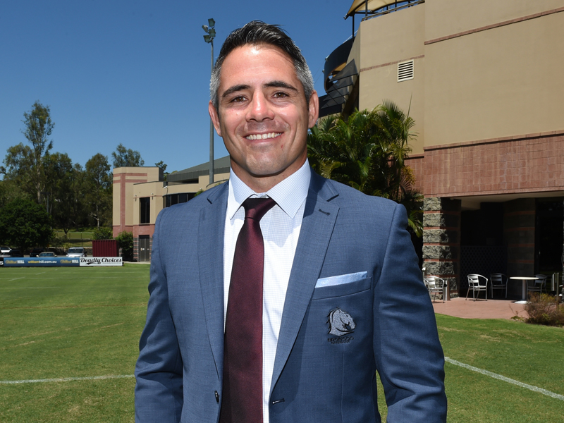 Corey Parker Gives Back To The NRL