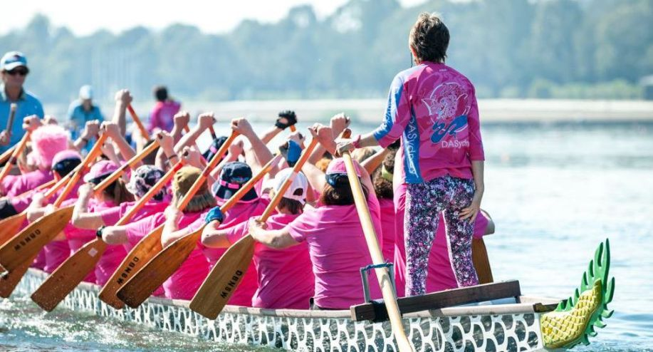 How dragon boat racing is helping cancer survivors
