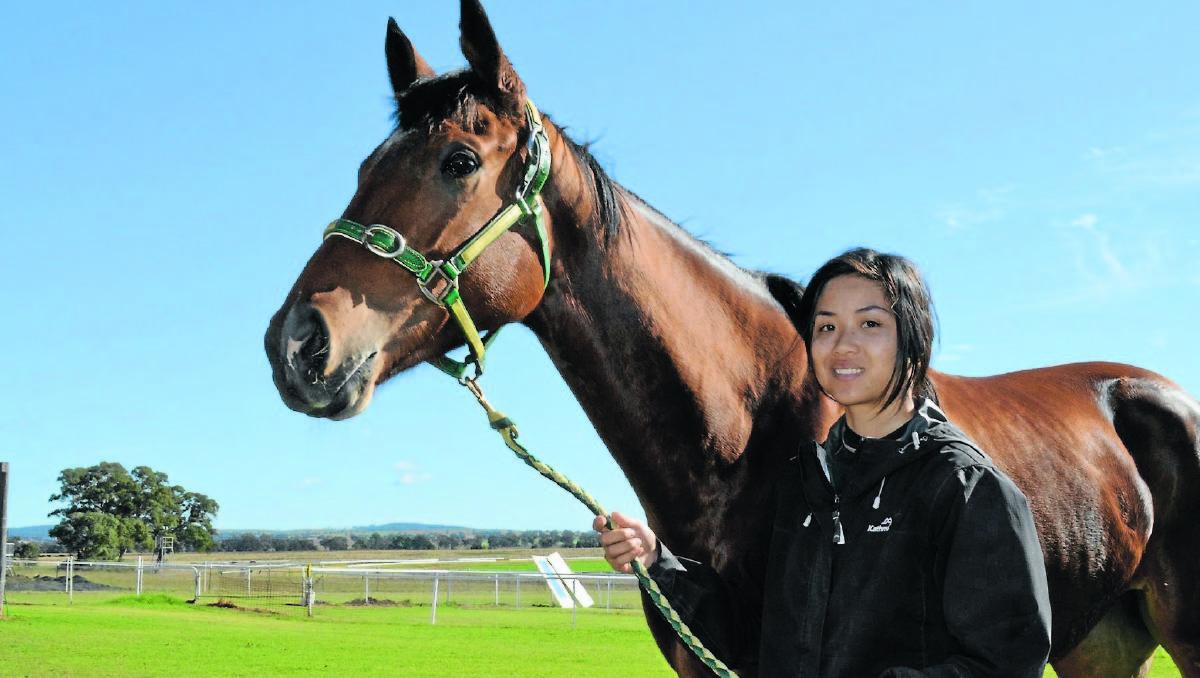 Jockey Fall At Rosehill Racecourse