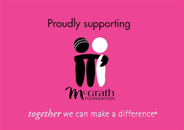 Jane McGrath Day on Thursday