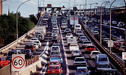 Sydney – Australia's most congested city
