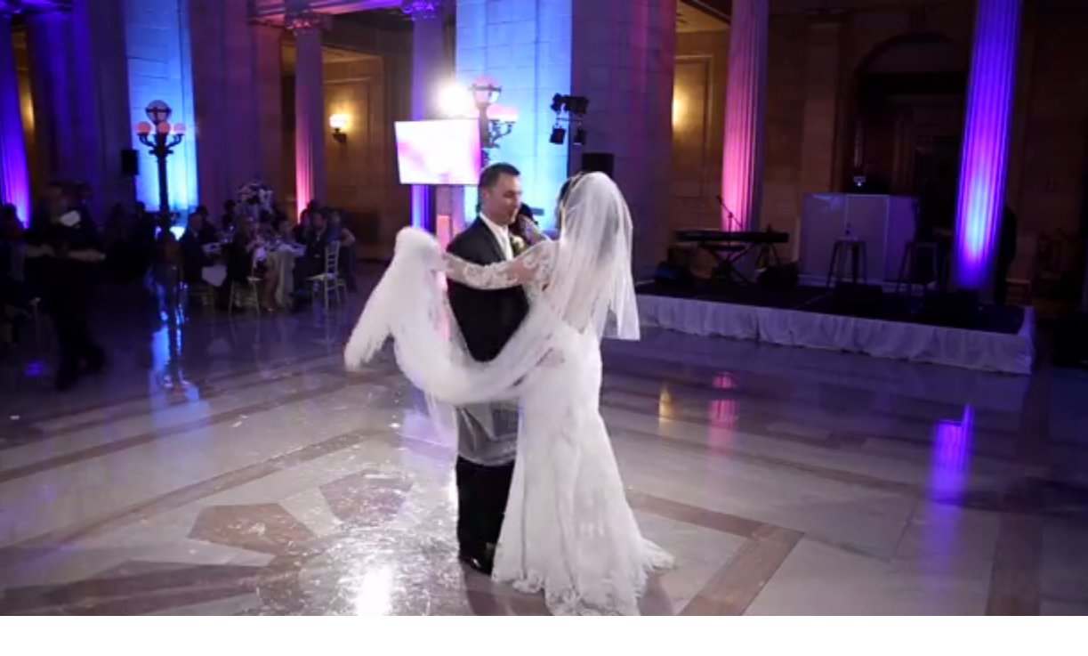 Article image for Groom surprises Bride with her favorite country singer!