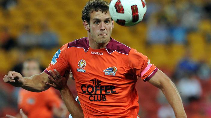 Brisbane Defender Luke De Vere