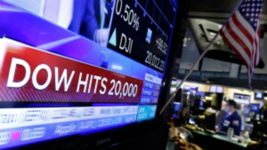 Dow Hits 20, 000