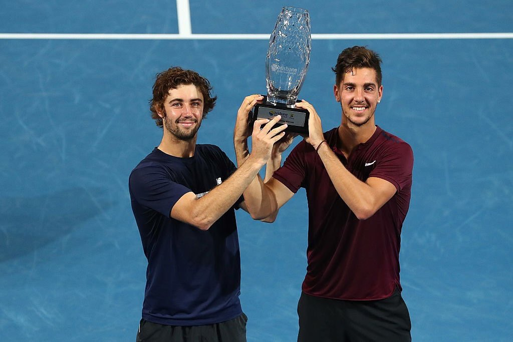 Aussies Win Brisbane International Doubles