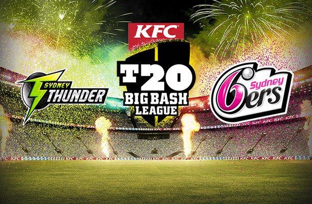 Summer Saturday – Sydney Sixers vs Sydney Thunder