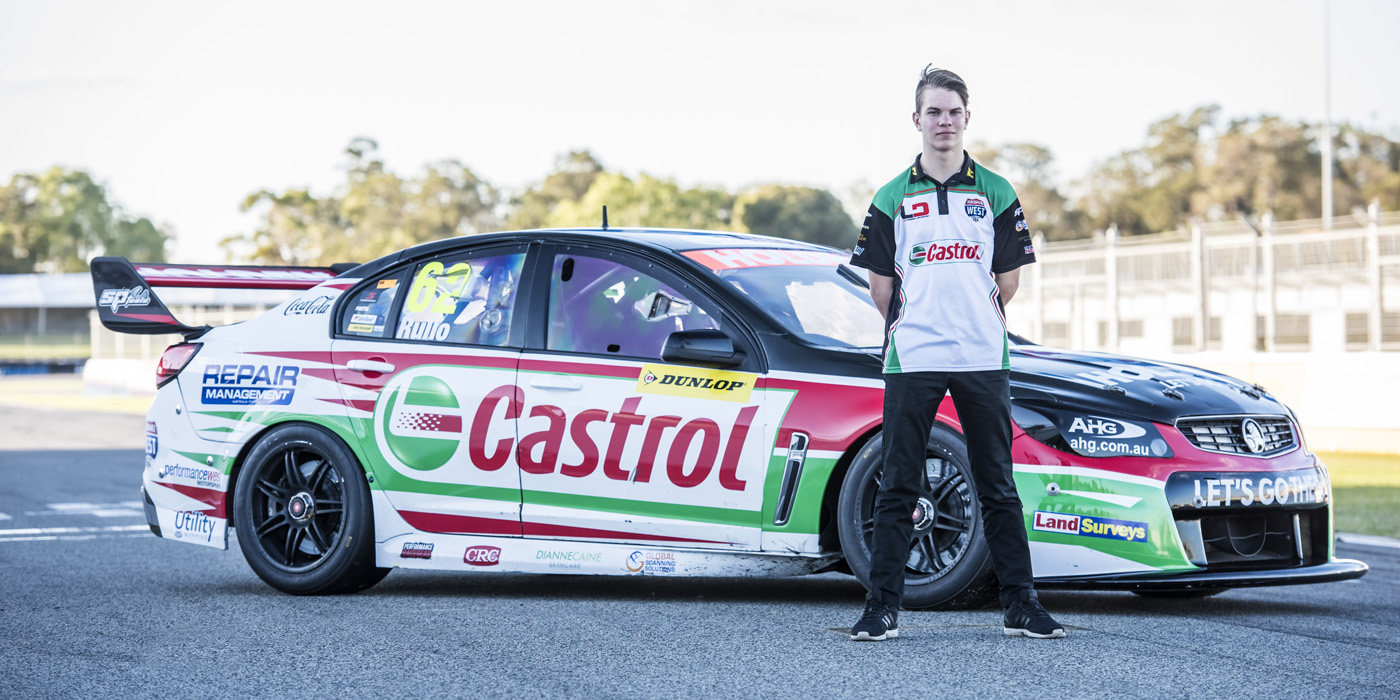 The Youngest Ever Supercars Driver