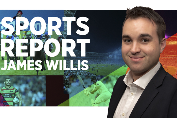 Sportzone with James Willis, Friday 15th November