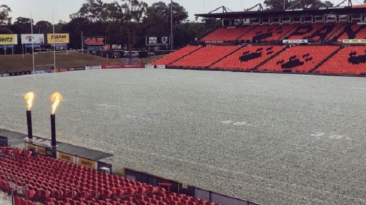 Hailstorm Lashing Sydney's West
