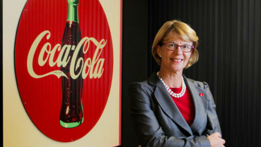 Alison Watkins CEO Coca-Cola Amatil