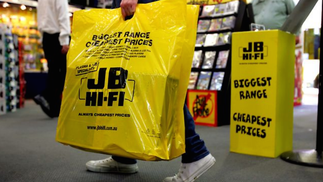 Market favourite JB Hi-Fi continues to profit