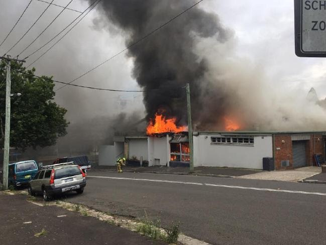 Katoomba RSL Fire