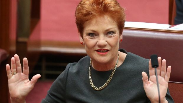Pauline Hanson Changes Her Tune