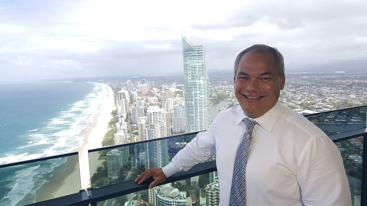 Gold Coast Mayor Tom Tate