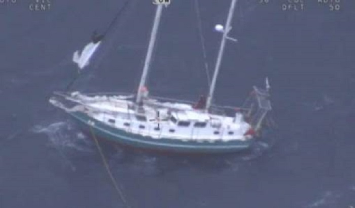 Dramatic Rescue On The High Seas