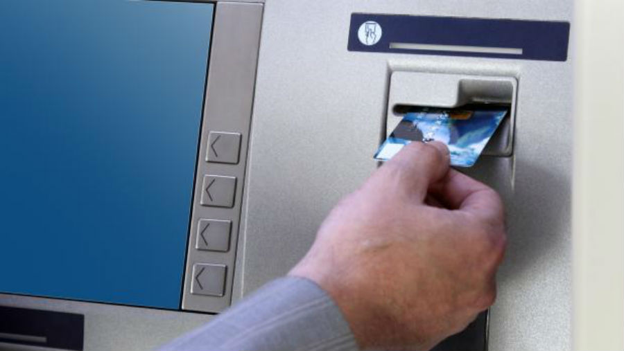 ATM withdrawals lowest in 13 years