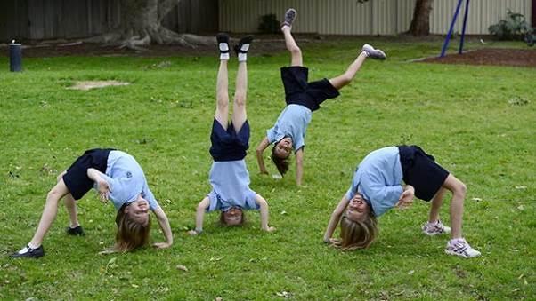 School Bans Cartwheels & Handstands