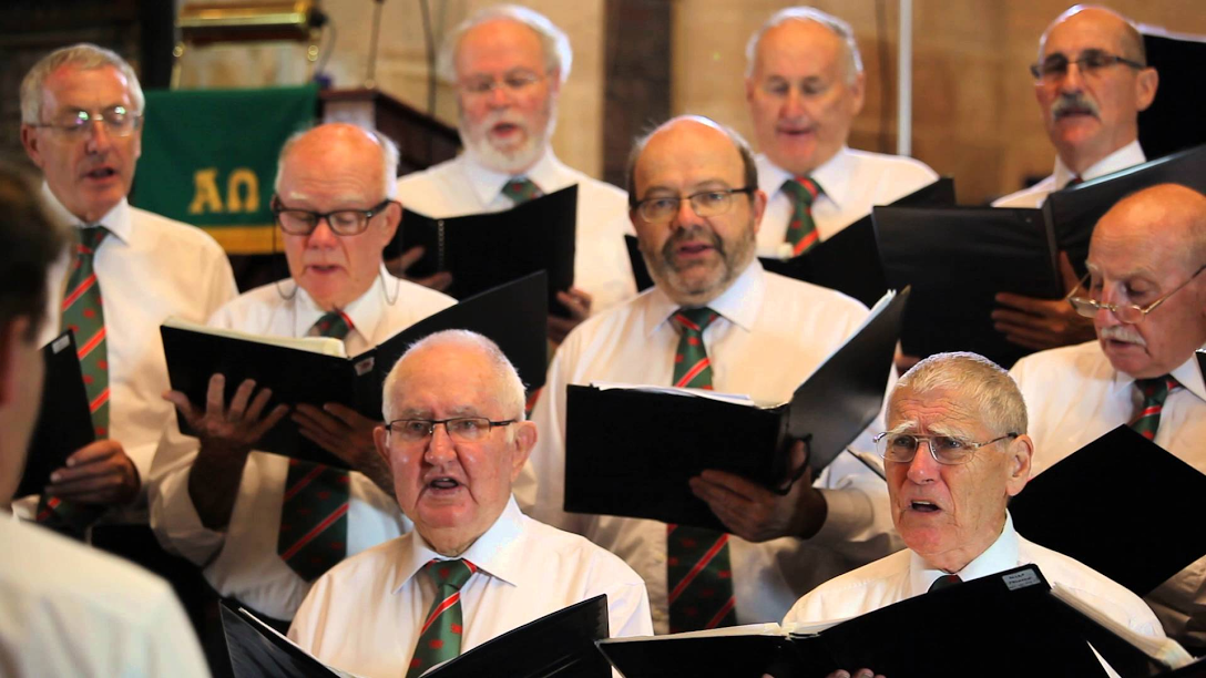 Cantorion Choir Sing For Aussie Helpers