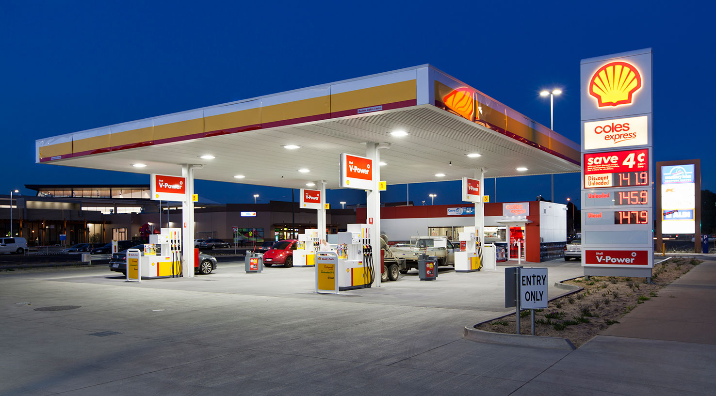 Coles Express expensive fuel