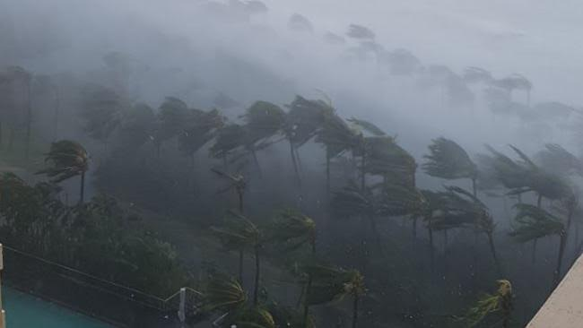 Cyclone Hits Hamilton Island