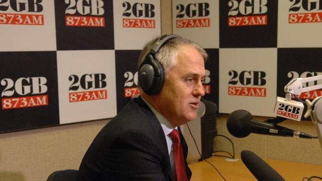 Malcolm Turnbull Rejects Talkback Radio