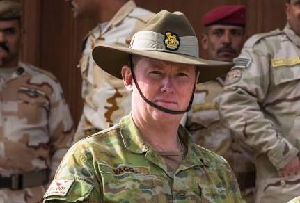Colonel Richard Vagg serving in Iraq