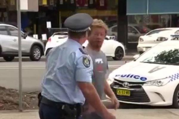 Article image for Heckler arrested