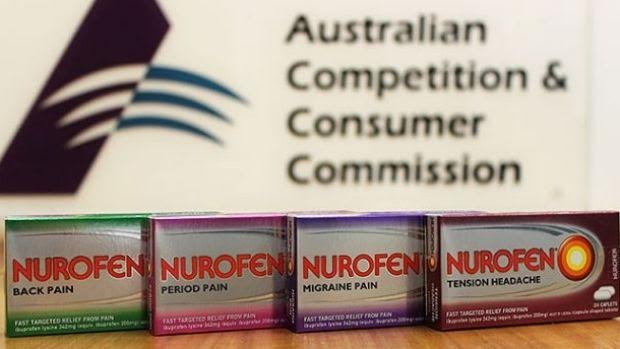 Nurofen Fined $6 Million Dollars