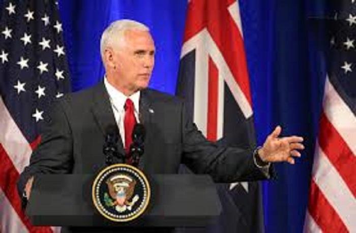 U.S Vice President Mike Pence in Australia