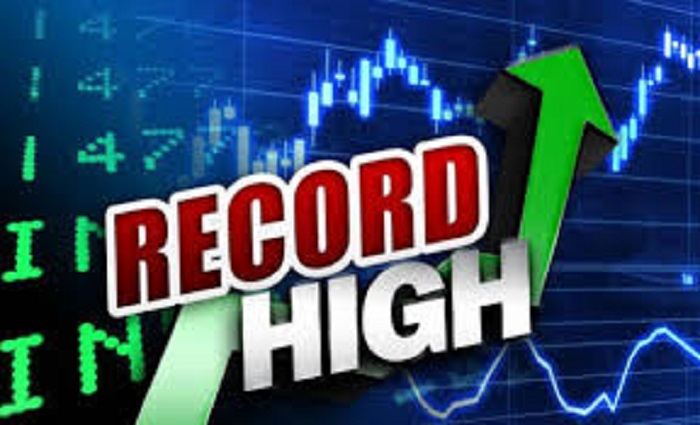 Stock market at all-time high