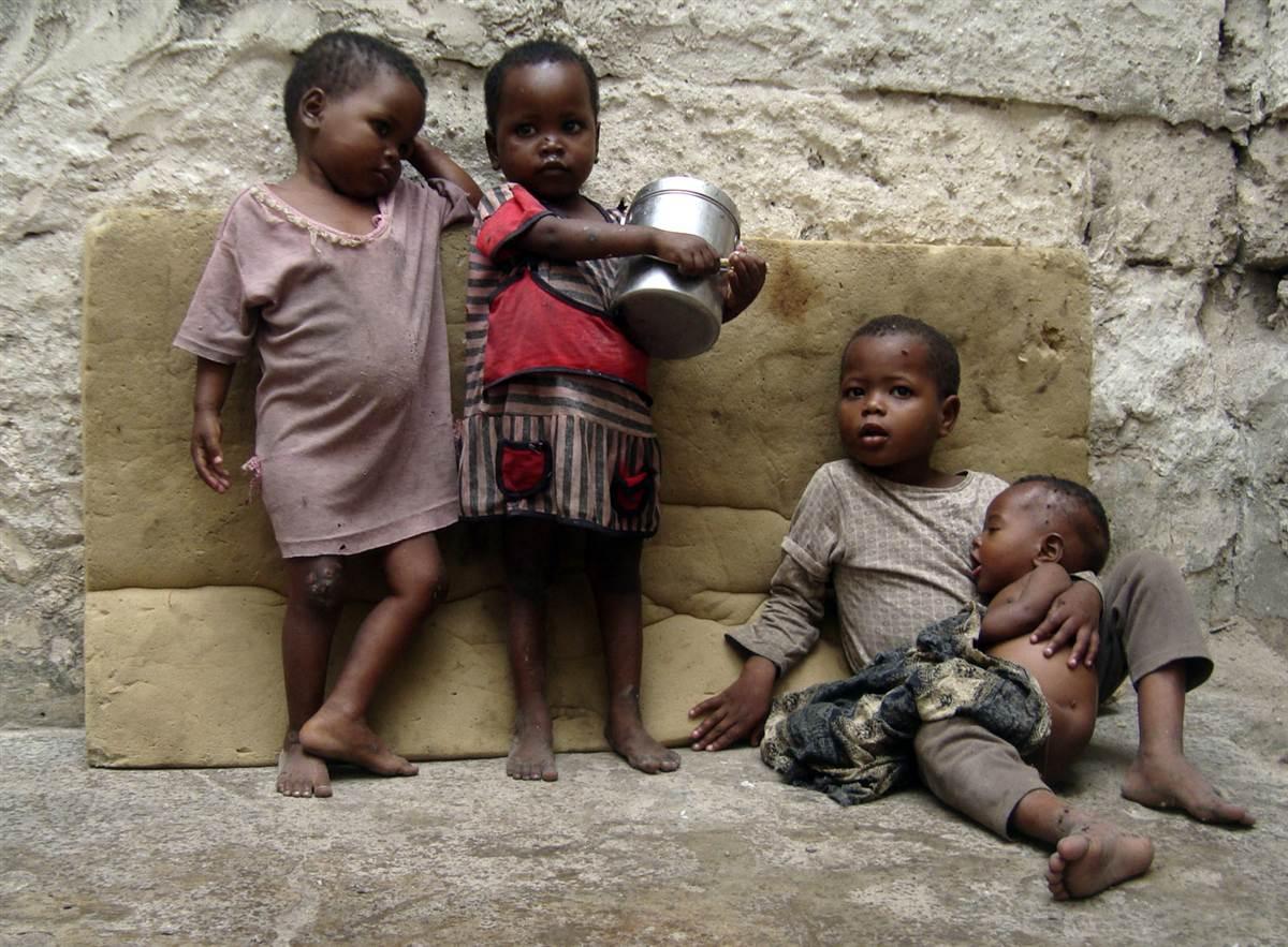 The famine of Somalia
