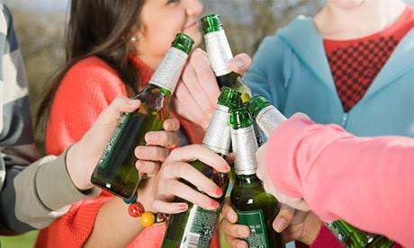 Calls To Ban Teens From Alcohol