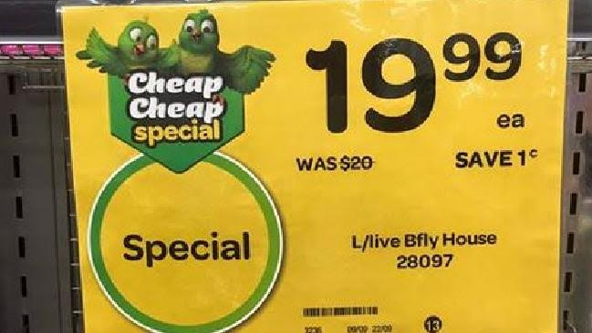 Woolworths Rounding Out Prices