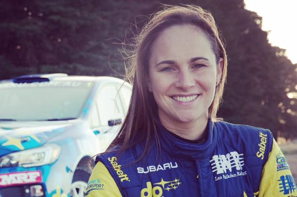Rally Driver Molly Taylor