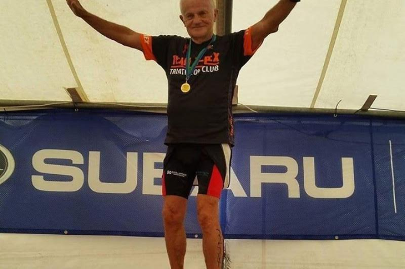 76 Year Old Triathlete