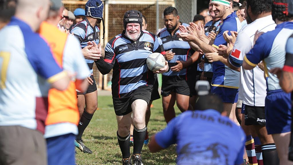 65 Year Old Plays 800th Club Rugby Match