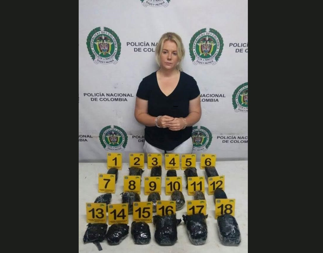 Article image for Alleged Aussie Drug Mule Photos