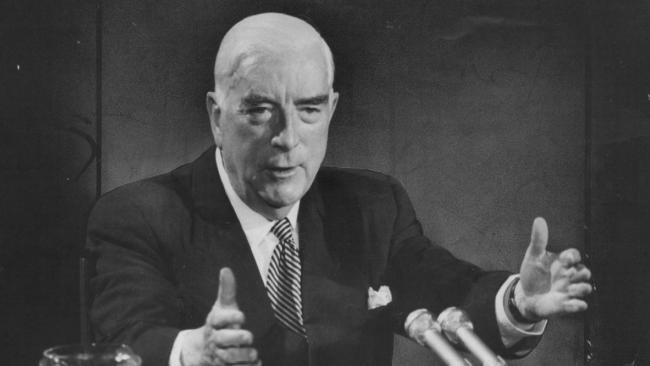 Sir Robert Menzies leaves office 55 years ago