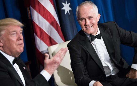 Turnbull & Trump meet face to face