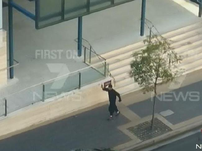 Court Played Parramatta Shooting Footage