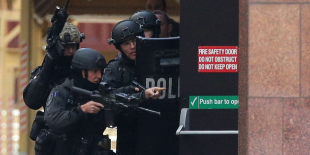 NSW Police Train to Take Down Terrorists