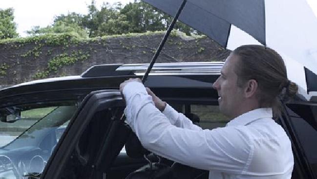 "Article image for Sydney Dads Invent ""Doorbrella"""