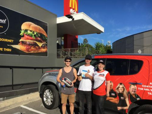 Saturday Fan Day: McDonald's Bateau Bay