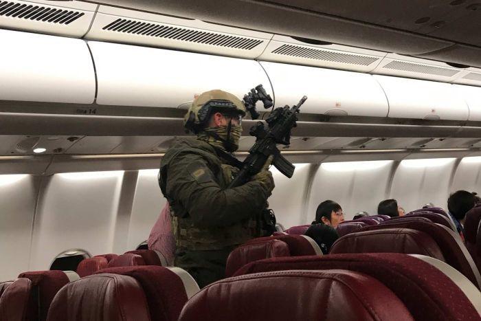 Mid-Air Emergency