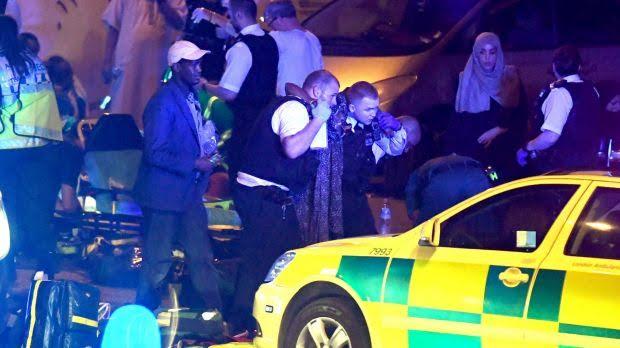 Terror Attack Outside London Mosque