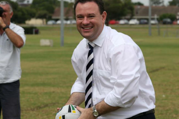 EXCLUSIVE: Stuart Ayres announces defibrillators for NSW sporting clubs